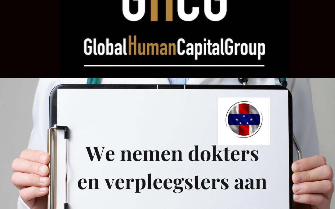 Global Human Capital Group gestiona ofertas de empleo sector sanitario: Doctores y Doctoras en Antillas Holandesas, NORTE AMÉRICA.