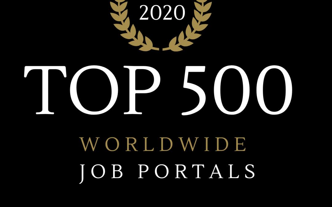 Ránking 2020 de los 500 mejores portales de empleo del mundo (228 países)