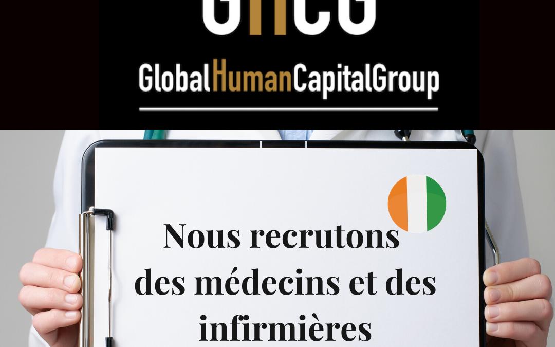 Global Human Capital Group gestiona ofertas de empleo sector sanitario: Doctores y Doctoras en Costa de Marfil, ÁFRICA.