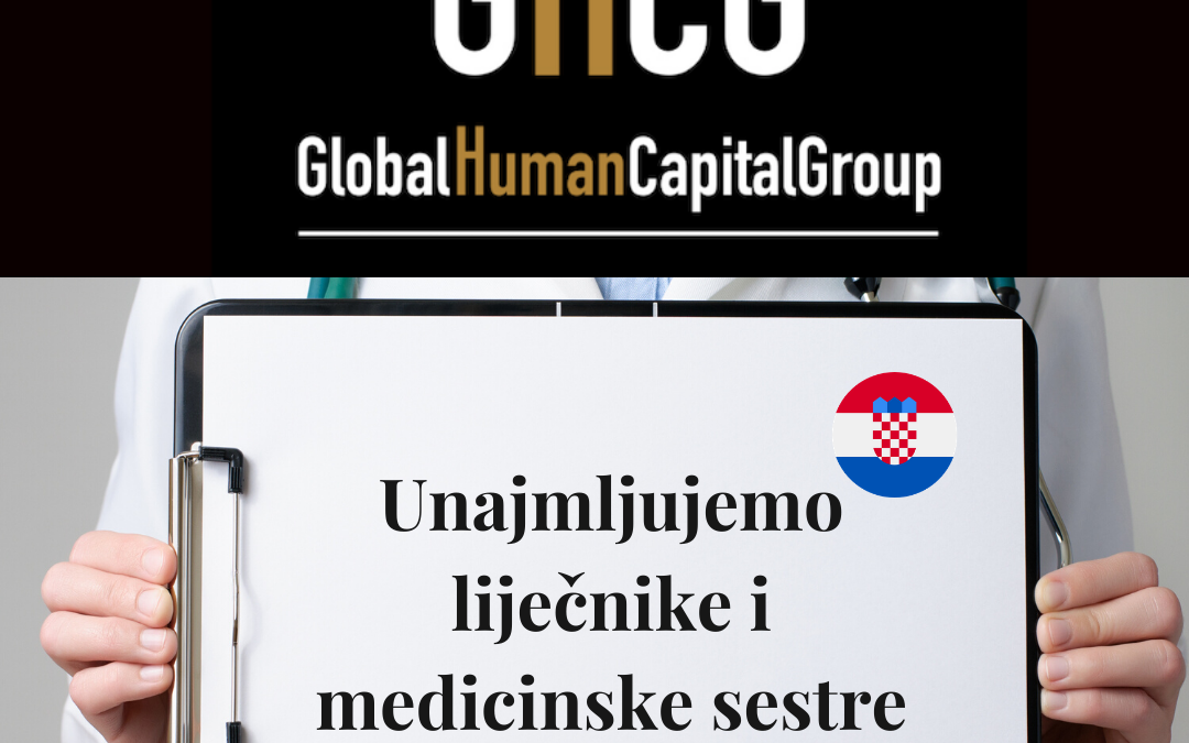 Global Human Capital Group gestiona ofertas de empleo sector sanitario: Doctores y Doctoras en Croacia, EUROPA.