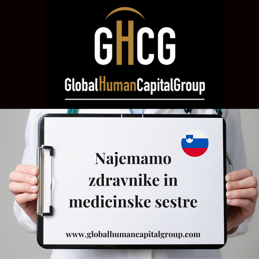 Global Human Capital Group gestiona ofertas de empleo sector sanitario: Doctores y Doctoras en Eslovenia, EUROPA.