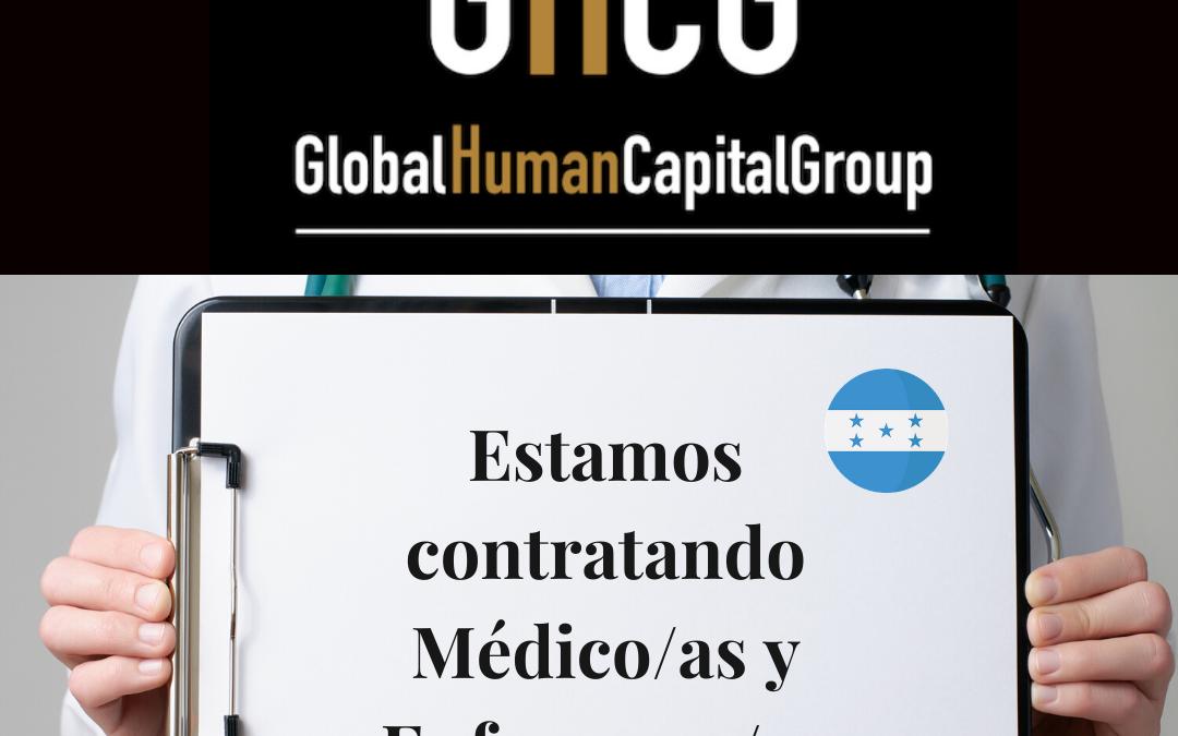 Global Human Capital Group gestiona ofertas de empleo sector sanitario: Doctores y Doctoras en Honduras, NORTE AMÉRICA.