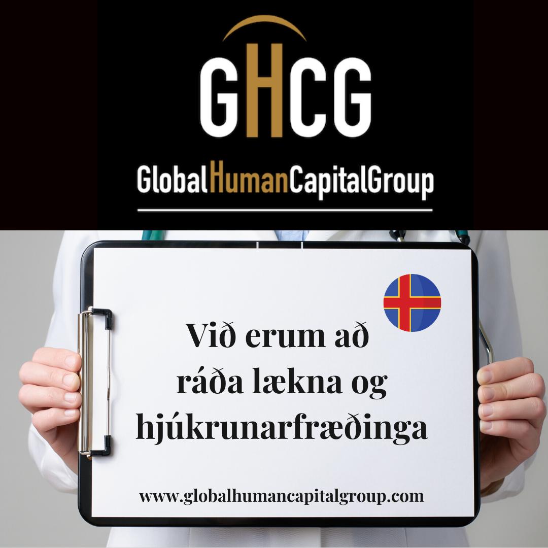 Global Human Capital Group gestiona ofertas de empleo sector sanitario: Doctores y Doctoras en Islandia, EUROPA.