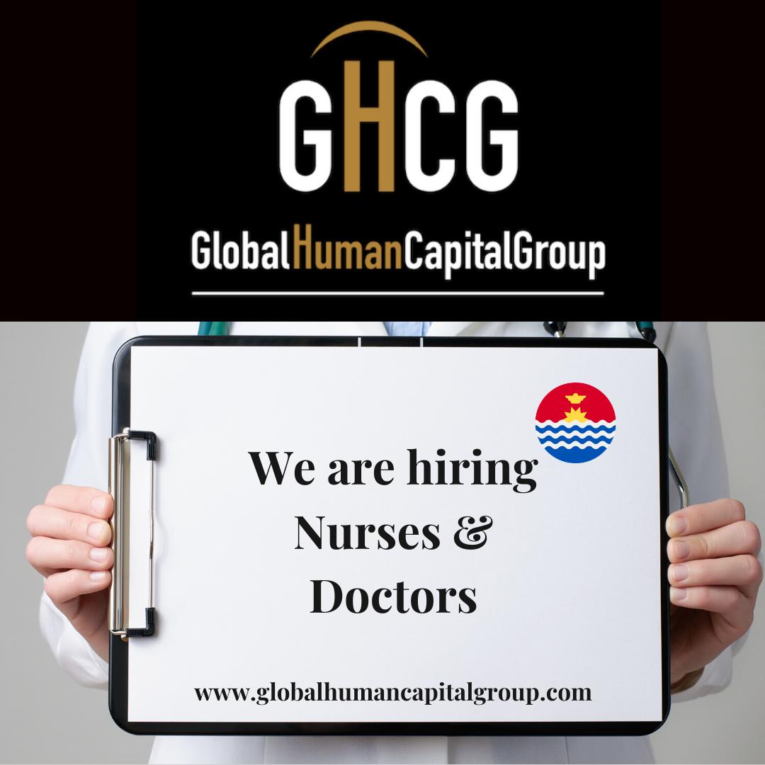Global Human Capital Group gestiona ofertas de empleo sector sanitario: Doctores y Doctoras en Kiribati, OCEANÍA.