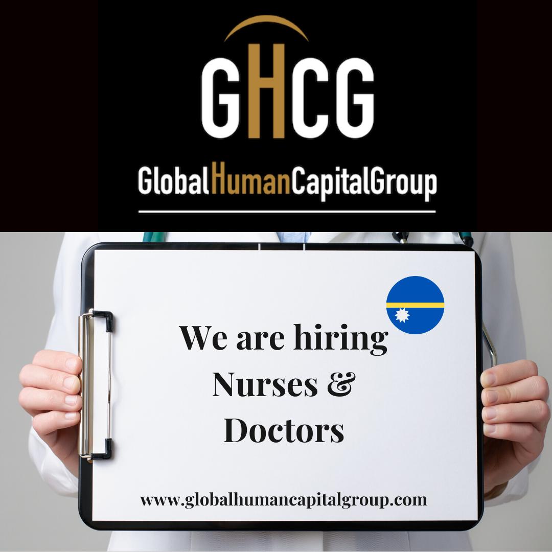 Global Human Capital Group gestiona ofertas de empleo sector sanitario: Doctores y Doctoras en Nauru, OCEANÍA.