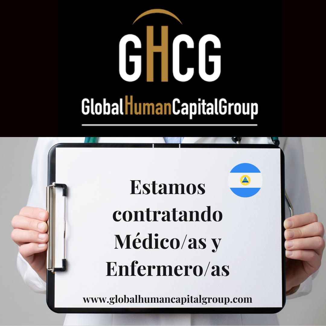 Global Human Capital Group gestiona ofertas de empleo sector sanitario: Enfermeros y Enfermeras en Nicaragua, NORTE AMÉRICA.