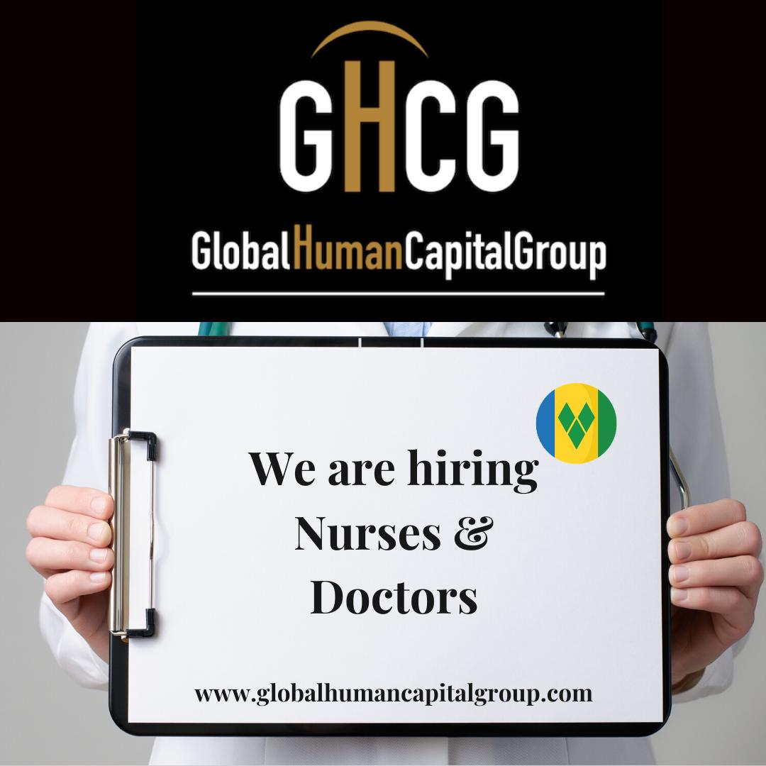 Global Human Capital Group gestiona ofertas de empleo sector sanitario: Doctores y Doctoras en San Vicente y las Granadinas, NORTE AMÉRICA.
