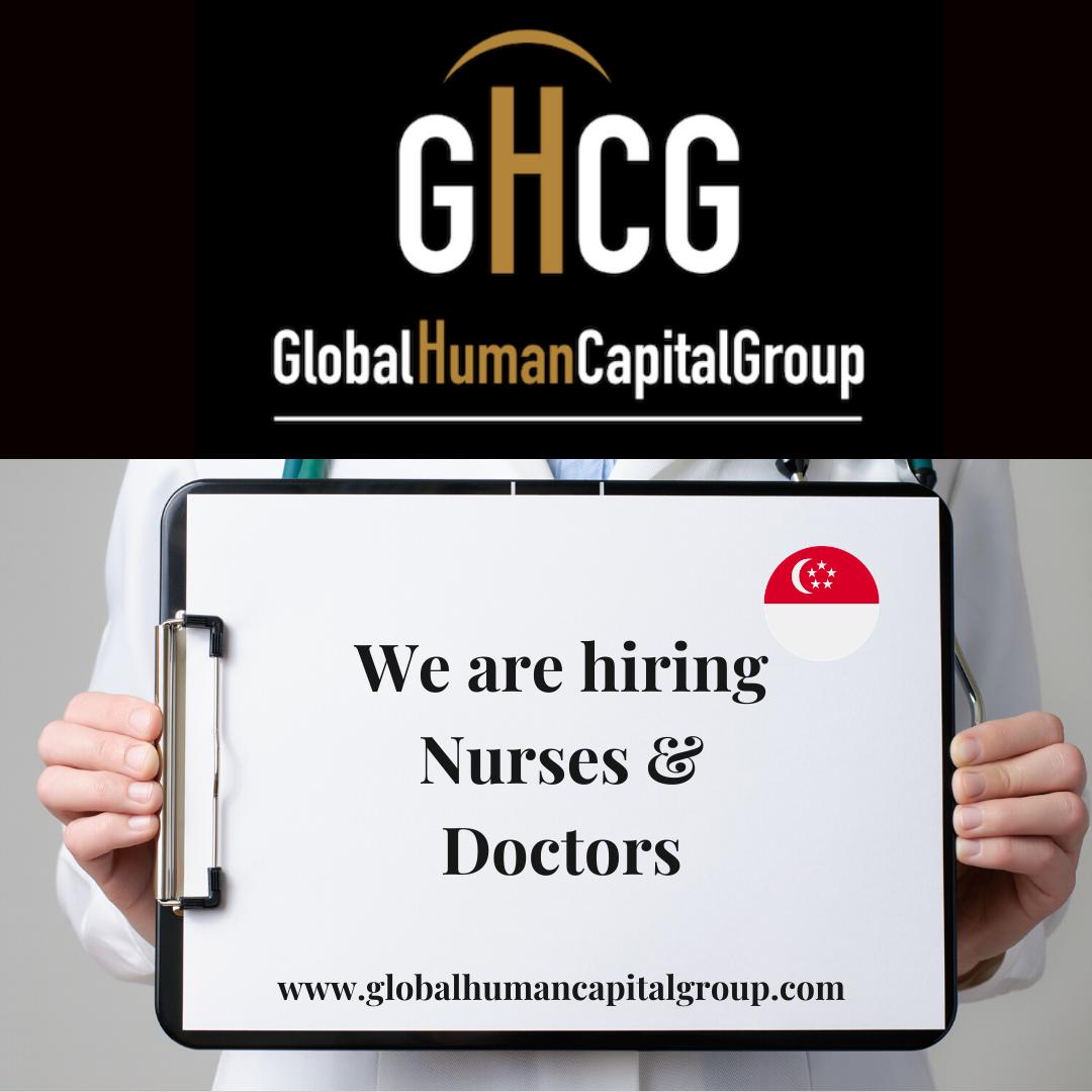 Global Human Capital Group gestiona ofertas de empleo sector sanitario: Doctores y Doctoras en Singapur, ASIA.