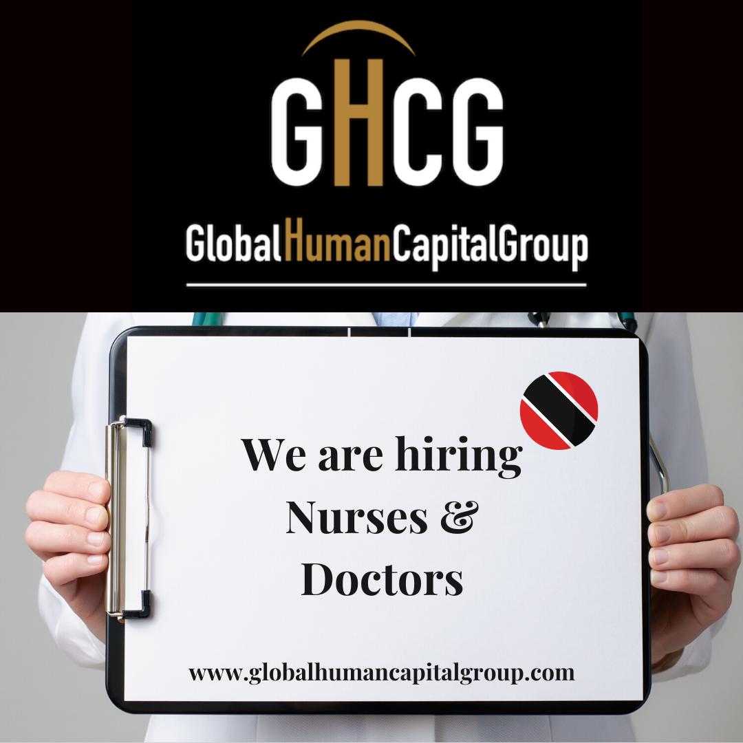 Global Human Capital Group gestiona ofertas de empleo sector sanitario: Doctores y Doctoras en Trinidad y Tobago, NORTE AMÉRICA.