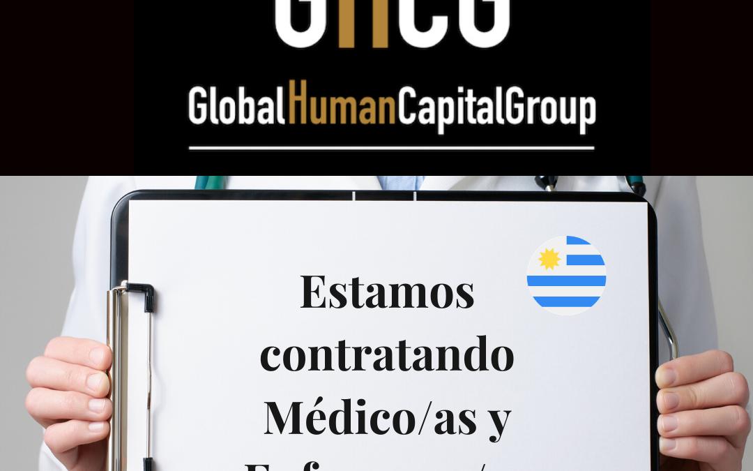 Global Human Capital Group gestiona ofertas de empleo sector sanitario: Doctores y Doctoras en Uruguay, SUR AMÉRICA.