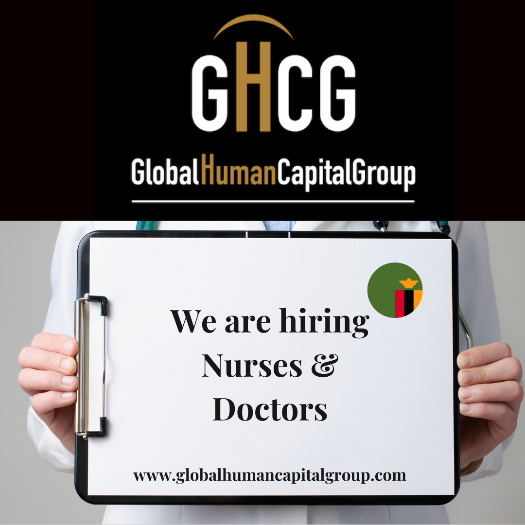 Global Human Capital Group gestiona ofertas de empleo sector sanitario: Doctores y Doctoras en Zambia, ÁFRICA.