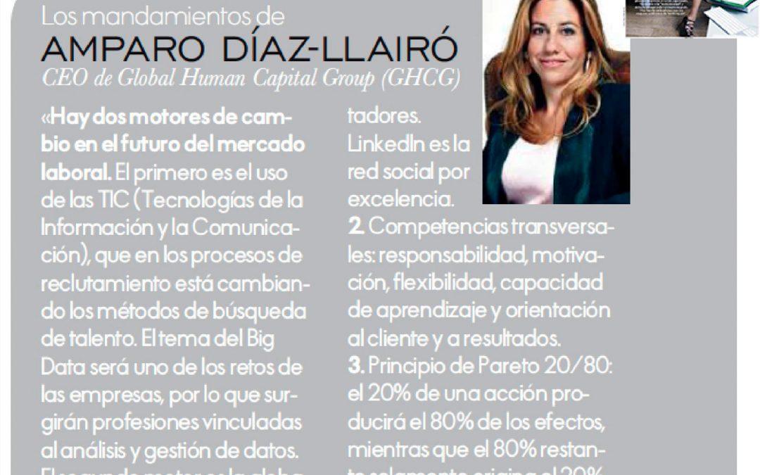 Los mandamientos de Amparo Díaz-Llairó